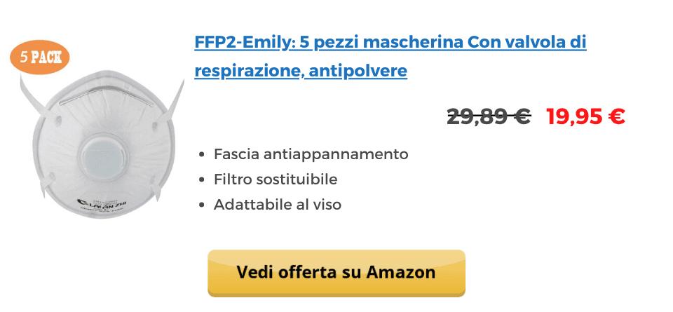 FFP2-Emily-con-filtro-5-pezzi