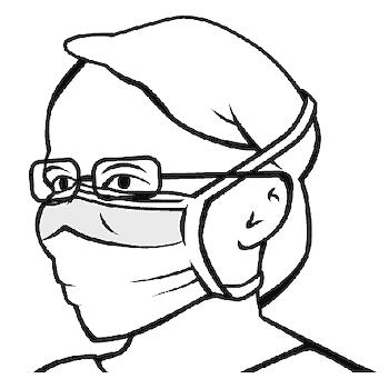 indossare le mascherine con gli occhiali